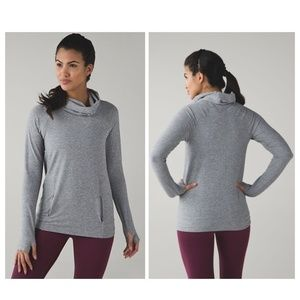 LULULEMON: Make A Move Pullover in Grey